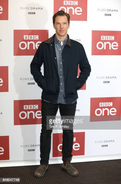 Actor Benedict Cumberbatch poses for a photo ahead of a preview screening of 'The Child In Time' at BAFTA on September 18 2017 in London England