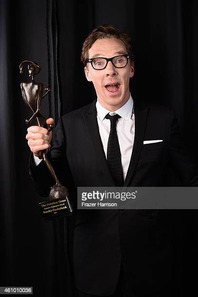 Actor Benedict Cumberbatch poses for a portrait during the 26th Annual Palm Springs International Film Festival Awards Gala at Parker Palm Springs on...