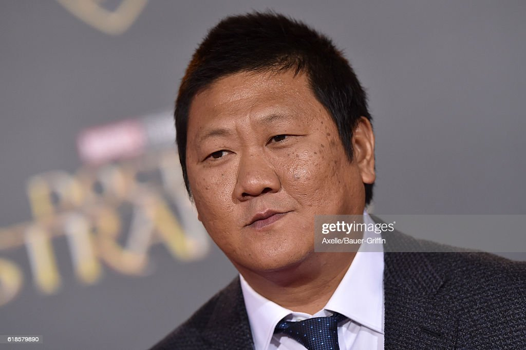 Actor Benedict Wong arrives at the Los Angeles Premiere of 'Doctor Strange' on October 20, 2016 in Hollywood, California.
