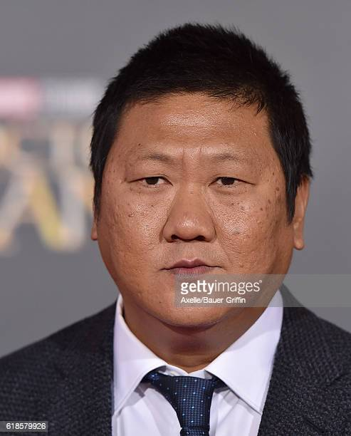 Actor Benedict Wong arrives at the Los Angeles Premiere of 'Doctor Strange' on October 20 2016 in Hollywood California