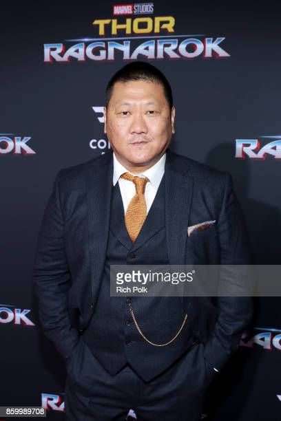 Actor Benedict Wong at The World Premiere of Marvel Studios' Thor Ragnarok at the El Capitan Theatre on October 10 2017 in Hollywood California