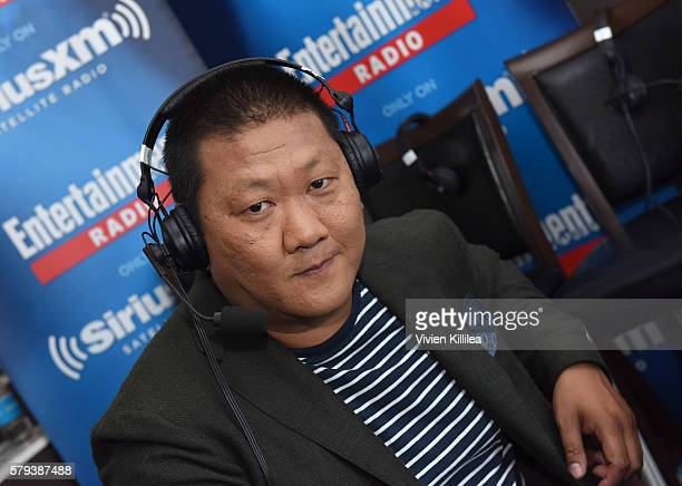 Actor Benedict Wong attends SiriusXM's Entertainment Weekly Radio Channel Broadcasts From ComicCon 2016 at Hard Rock Hotel San Diego on July 22 2016...