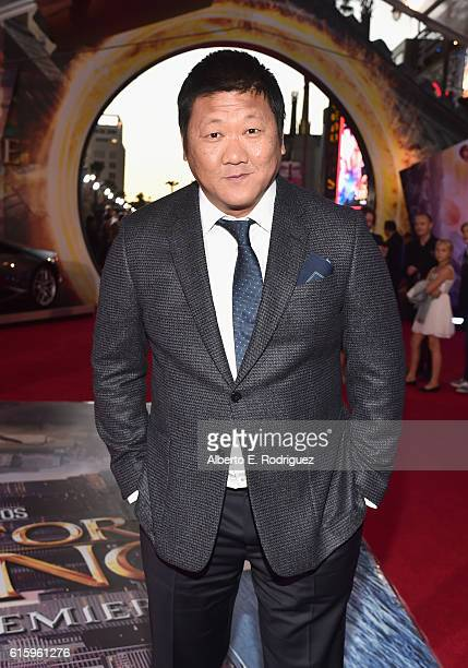 """Actor Benedict Wong attends The Los Angeles World Premiere of Marvel Studios' Doctor Strange"""" in Hollywood CA on Oct 20th 2016"""