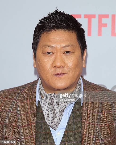 Actor Benedict Wong attends the Marco Polo New York series premiere at AMC Lincoln Square Theater on December 2 2014 in New York City