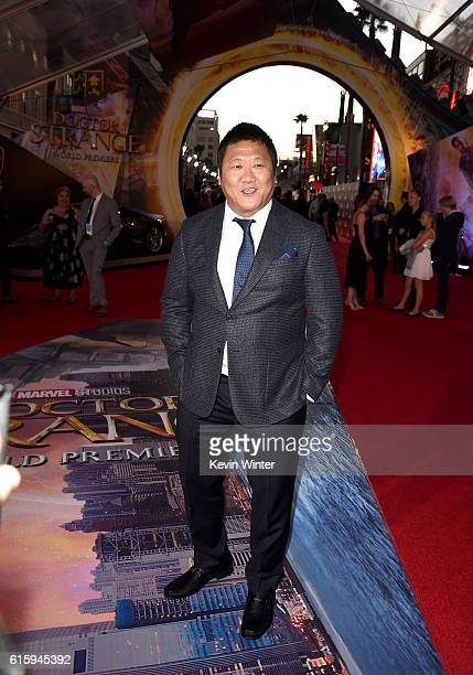 Actor Benedict Wong attends the premiere of Disney And Marvel Studios' 'Doctor Strange' on October 20 2016 in Hollywood California