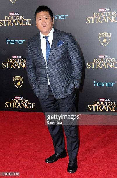 Actor Benedict Wong attends the premiere of Disney and Marvel Studios' 'Doctor Strange' at the El Capitan Theatre on October 20 2016 in Hollywood...