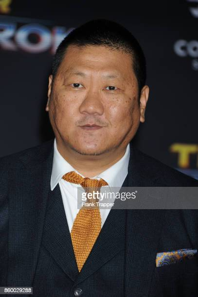 Actor Benedict Wong attends the premiere of Disney and Marvel's Thor Ragnarok on October 10 2017 at the El Capitan Theater in Hollywood California