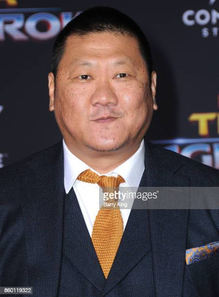 Actor Benedict Wong attends the World premiere of Disney and Marvel's 'Thor Ragnarok' at El Capitan Theatre on October 10 2017 in Los Angeles...