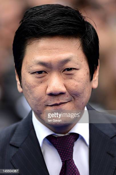 Actor Benedict Wong attends the world premiere of Prometheus at the Empire Leicester Square on May 31 2012 in London England