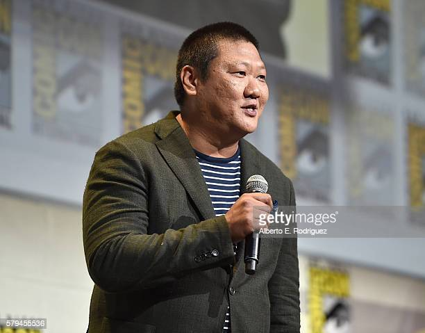 """Actor Benedict Wong from Marvel Studios' Doctor Strange"""" attends the San Diego ComicCon International 2016 Marvel Panel in Hall H on July 23 2016 in..."""