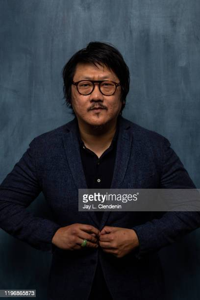 Actor Benedict Wong from 'Nine Days' is photographed in the LA Times Studio at the Sundance Film Festival on January 26 2020 in Park City Utah...