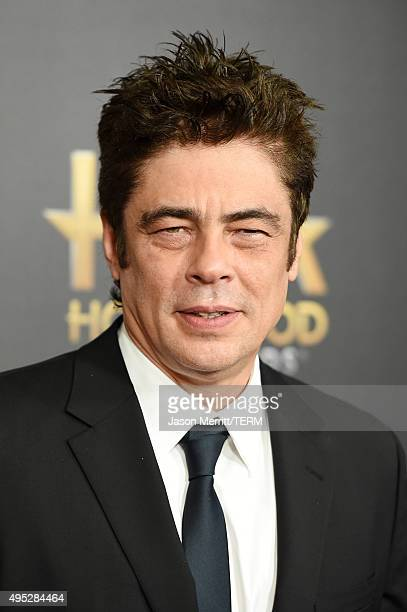 Actor Benicio del Toro attends the 19th Annual Hollywood Film Awards at The Beverly Hilton Hotel on November 1 2015 in Beverly Hills California
