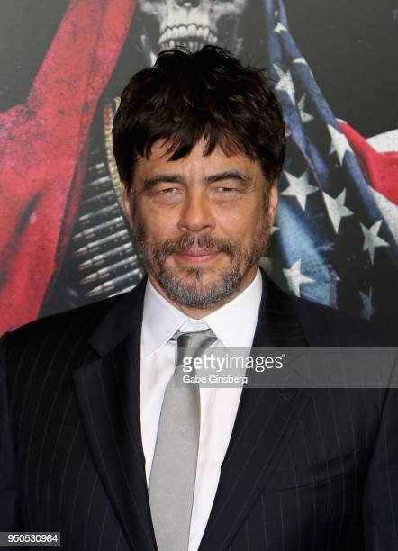 Actor Benicio del Toro attends the CinemaCon 2018 Gala Opening Night Event Sony Pictures Highlights its 2018 Summer and Beyond Films at The Colosseum...