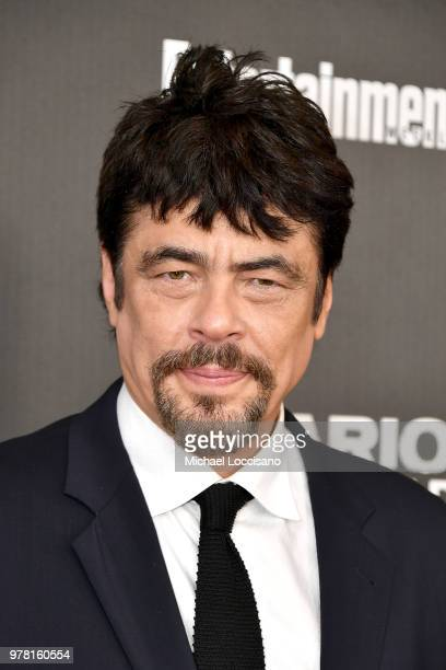 Actor Benicio del Toro attends the New York screening of Sicario Day Of The Soldado on June 18 2018 in New York City