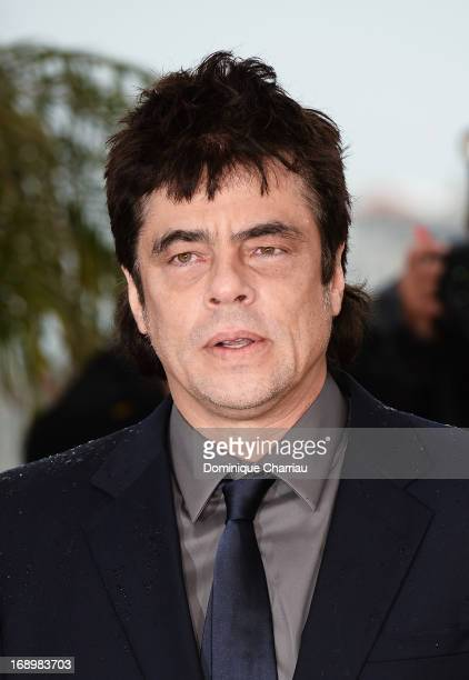 Actor Benicio del Toro attends the photocall for 'Jimmy P. ' at the Palais des Festivals during The 66th Annual Cannes Film Festival on May 18, 2013...