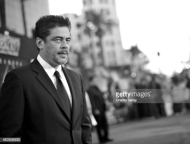 """Actor Benicio Del Toro attends The World Premiere of Marvel's epic space adventure """"Guardians of the Galaxy"""" directed by James Gunn and presented in..."""