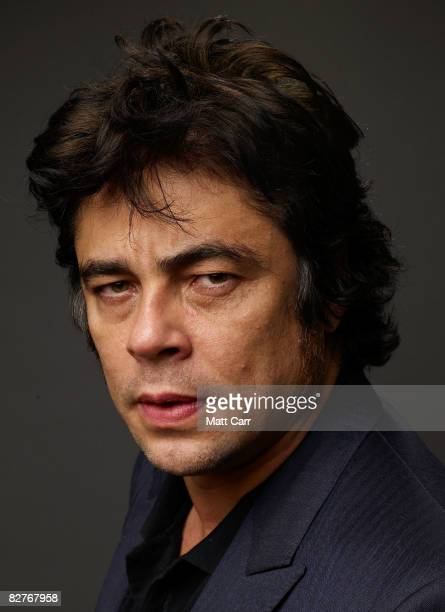 Actor Benicio Del Toro from the film 'Che' poses for a portrait during the 2008 Toronto International Film Festival at The Sutton Place Hotel on...