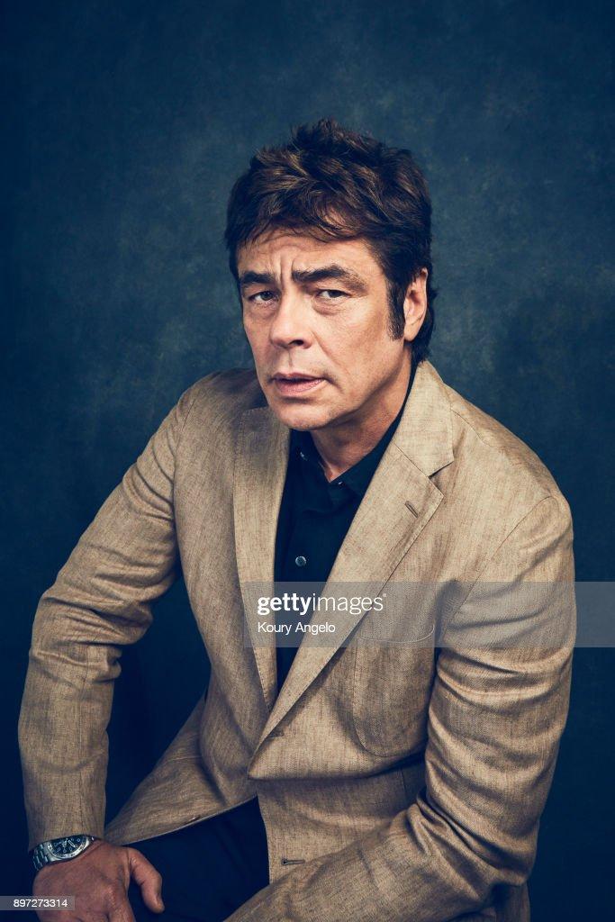 Benicio Del Toro, People Magazine, December 15, 2017 : News Photo