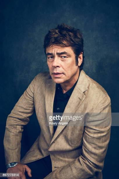 Actor Benicio Del Toro is photographed for People Magazine on July 25 2017 in Los Angeles California ON DOMESTIC EMBARGO UNTIL MARCH 15 2018 ON...