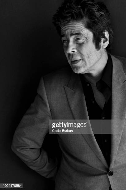 Actor Benicio del Toro is photographed for Self Assignment on May 2015 in Cannes France