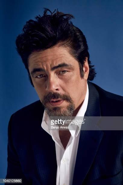 Actor Benicio del Toro of Showtime's 'Escape at Dannemora' poses for a portrait during the 2018 Summer Television Critics Association Press Tour at...
