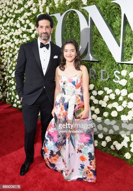 Actor Benim Foster and Miranda Foster attend the 2017 Tony Awards at Radio City Music Hall on June 11 2017 in New York City