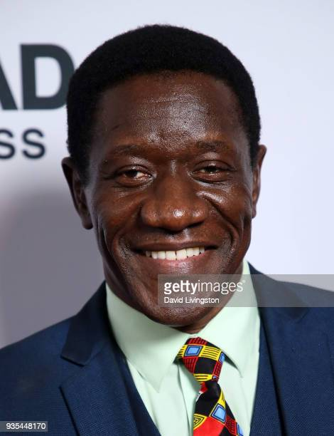 Actor Benjamin A Onyango attends the 'God's Not Dead A Light in Darkness' premiere at American Cinematheque's Egyptian Theatre on March 20 2018 in...
