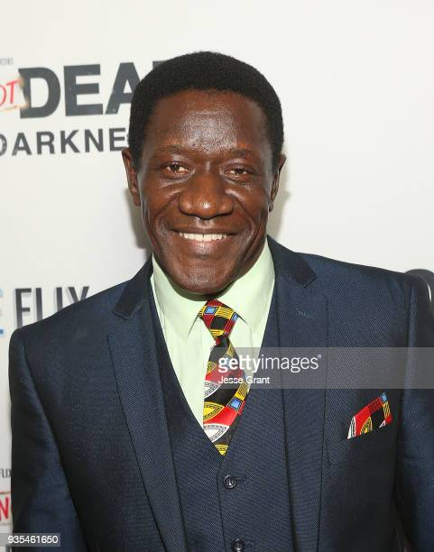 Actor Benjamin A Onyango attends the God's Not Dead A Light in Darkness premiere on March 20 2018 in Los Angeles California