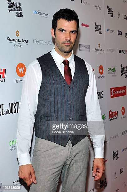 Actor Benjamin Ayres attends the Rising Stars: 2012 Producers Ball during the 2012 Toronto International Film Festival on September 5, 2012 in...