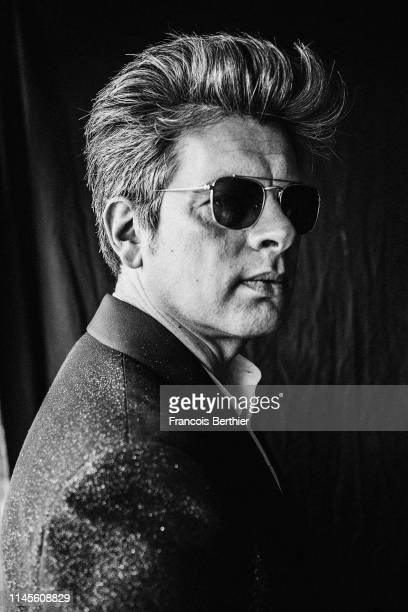 Actor Benjamin Biolay poses for a portrait on May 19 2019 in Cannes France