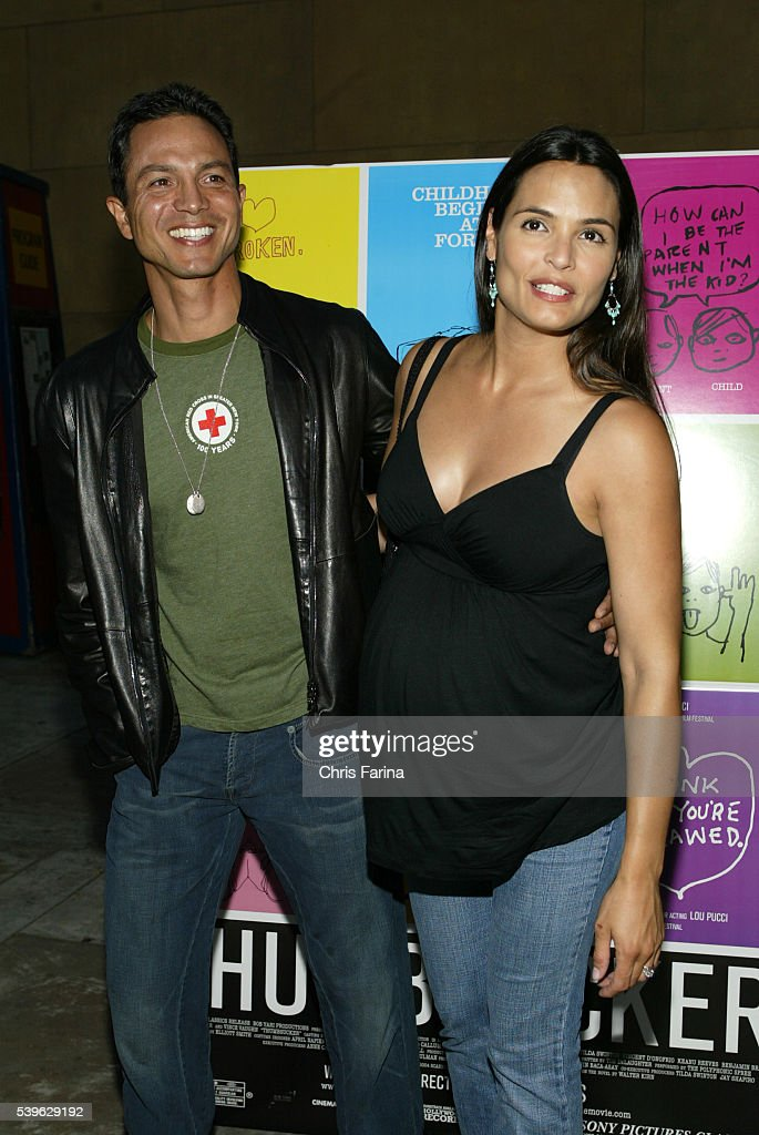 Actress Halle Berry Right Actor Benjamin Stock Photo ...