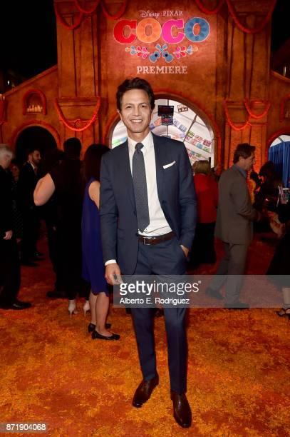 Actor Benjamin Bratt at the US Premiere of DisneyPixar's 'Coco' at the El Capitan Theatre on November 8 in Hollywood California