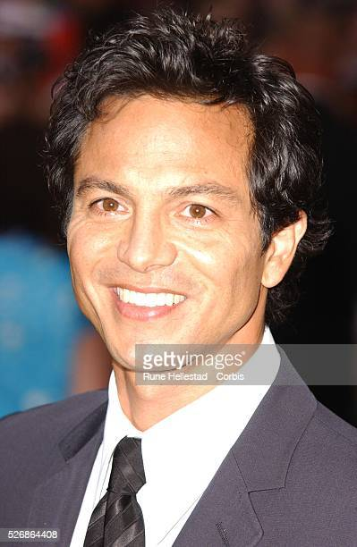 Actor Benjamin Bratt attends the premiere of Catwoman in Leicester Square London