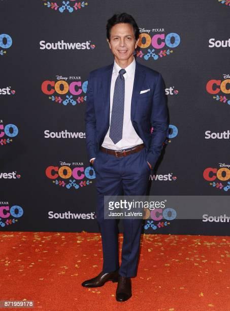 Actor Benjamin Bratt attends the premiere of 'Coco' at El Capitan Theatre on November 8 2017 in Los Angeles California
