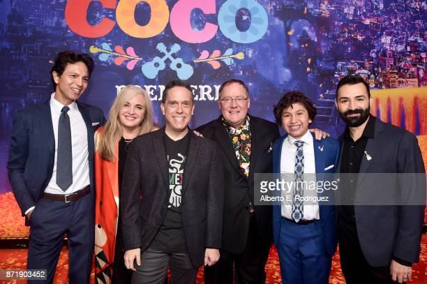 Actor Benjamin Bratt Producer Darla K Anderson Director Lee Unkrich Executive Producer John Lasseter Actor Anthony Gonzalez and...