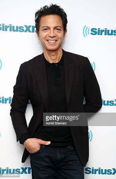 Actor Benjamin Bratt visits 'Sway in the Morning' with Sway Calloway on Eminem's Shade 45 at the SiriusXM Studios on January 4 2017 in New York City