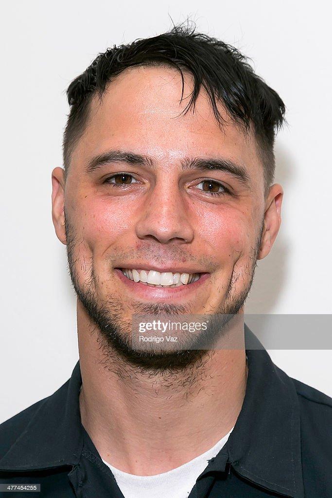 Actor Benjamin Ciaramello attends Alexander Yulish 'An Unquiet Mind' VIP Opening Reception at KM Fine Arts LA Studio on March 8, 2014 in Los Angeles, California.