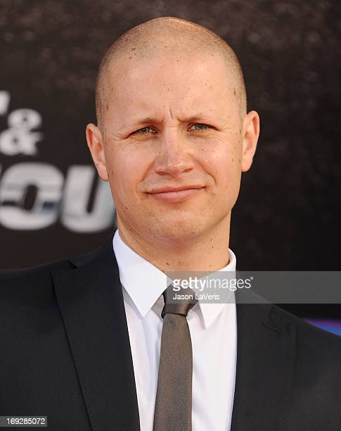 """Actor Benjamin Davies attends the premiere of """"Fast & Furious 6"""" at Universal CityWalk on May 21, 2013 in Universal City, California."""