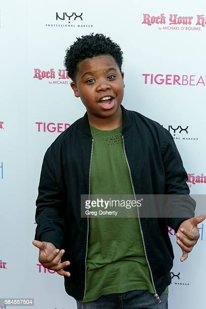 Actor Benjamin Flores Jr arrives at the Tiger Beat's PreParty Around FOX's Teen Choice Awards at HYDE Sunset Kitchen Cocktails on July 28 2016 in...