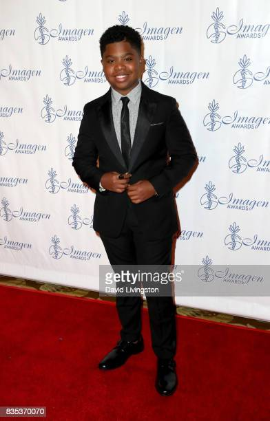 Actor Benjamin Flores Jr attends the 32nd Annual Imagen Awards at the Beverly Wilshire Four Seasons Hotel on August 18 2017 in Beverly Hills...