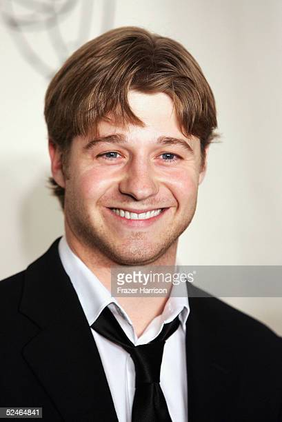 Actor Benjamin McKenzie arrives at The Academy of Arts and Sciences presents the The OC Revealed at Warner Bros Studios Steven Ross Theatre on March...