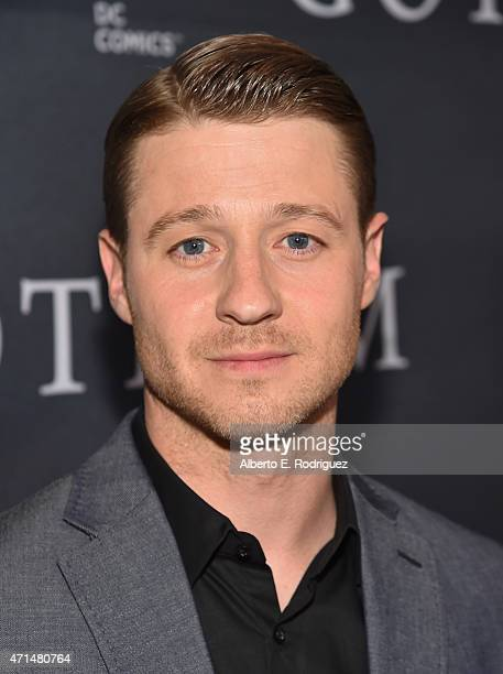 Actor Benjamin McKenzie attends Fox's 'Gotham' Season Finale Screening at Landmark Theatre on April 28 2015 in Los Angeles California