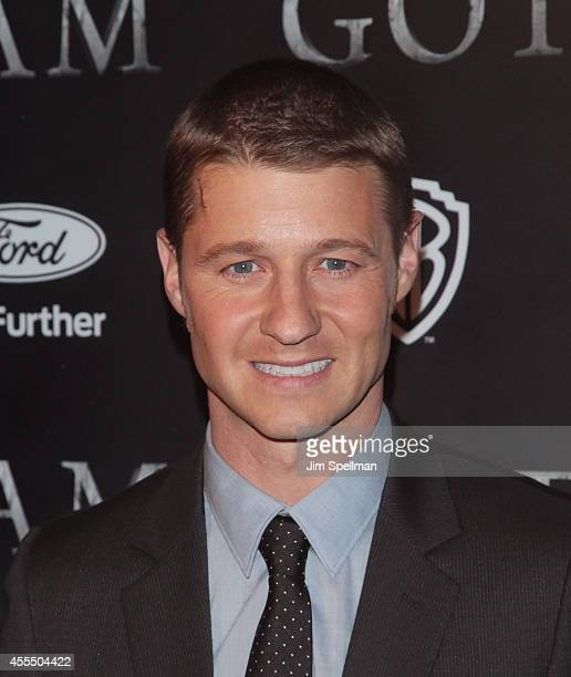 Actor Benjamin McKenzie attends the 'Gotham' Series Premiere at The New York Public Library on September 15 2014 in New York City
