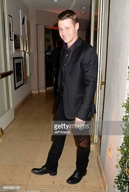 Actor Benjamin McKenzie attends the Warner Music Group annual GRAMMY celebration at Sunset Tower on January 26 2014 in West Hollywood California