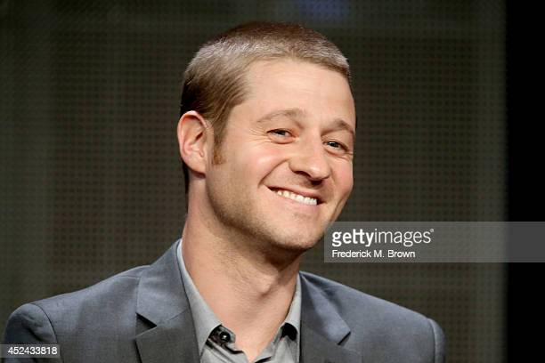 Actor Benjamin McKenzie speaks onstage at the 'Gotham' panel during the FOX Network portion of the 2014 Summer Television Critics Association at The...