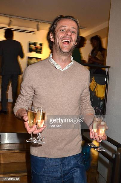 Actor Benjamin Rolland attends the ''Mon Disneyland' Art Event At 'Galerie My Disneyland' on June 7 2011 in Paris France