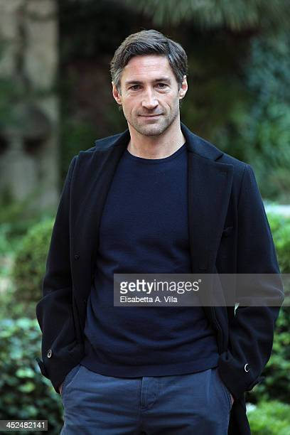 Actor Benjamin Sadler attends 'Anna Karenina' fiction TV photocall at Hotel De Russie on November 29 2013 in Rome Italy
