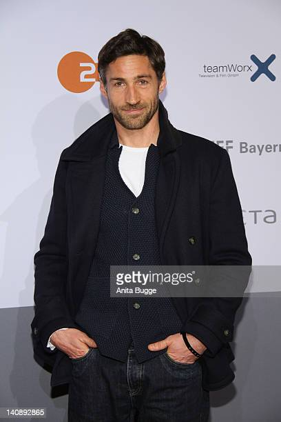 Actor Benjamin Sadler attends the 'Muenchen 72 Das Attentat' Germany Premiere at Astor Film Lounge on March 7 2012 in Berlin Germany