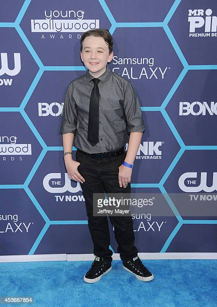 Actor Benjamin Stockham arrives at the 16th Annual Young Hollywood Awards at The Wiltern on July 27 2014 in Los Angeles California
