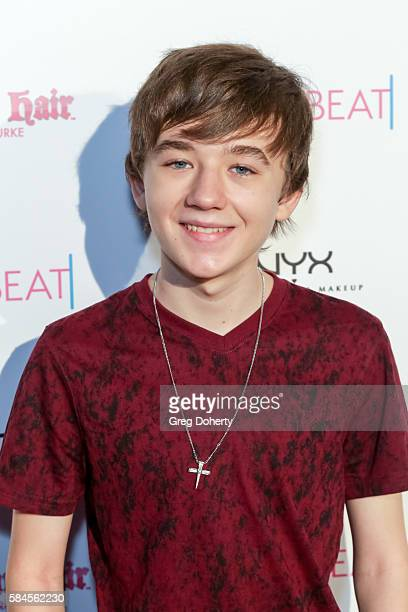 Actor Benjamin Stockham arrives at the Tiger Beat's PreParty Around FOX's Teen Choice Awards at HYDE Sunset Kitchen Cocktails on July 28 2016 in West...